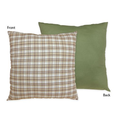 Construction Zone Decorative Accent Throw Pillow by Sweet Jojo Designs - Click to enlarge