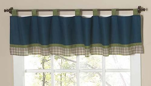 Construction Zone Window Valance by Sweet Jojo Designs - Click to enlarge