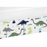 Crib Bed Skirt for Blue and Green Mod Dinosaur Baby Bedding Sets by Sweet Jojo Designs