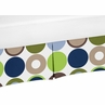 Crib Bed Skirt for Designer Dot Modern Baby Bedding Sets by Sweet Jojo Designs