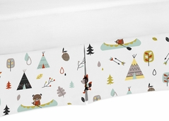 Crib Bed Skirt for Outdoor Adventure Baby Bedding Sets by Sweet Jojo Designs