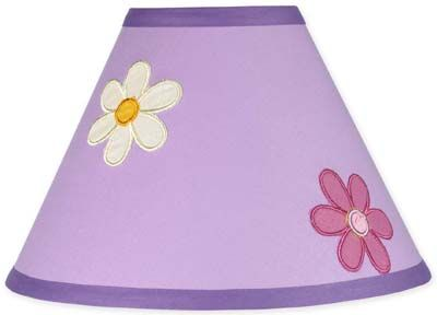 Danielle's Daisies Lamp Shade - Click to enlarge