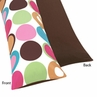 Deco Dot Full Length Double Zippered Body Pillow Case Cover by Sweet Jojo Designs