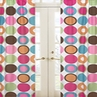 Deco Dot Modern Window Treatment Panels - Set of 2