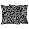 Decorative Accent Throw Pillows for Coordinating Bedding Sets by Sweet Jojo Designs - Set of 2