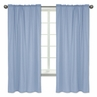 Denim Blue Window Treatment Panels by Sweet Jojo Designs - Set of 2