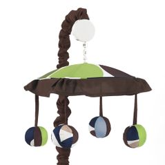 Designer Dot Musical Baby Crib Mobile by Sweet Jojo Designs