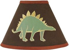 Dinosaur Lamp Shade by Sweet Jojo Designs