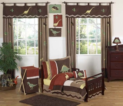 Dinosaur Toddler Bedding - 5 pc Set - Click to enlarge