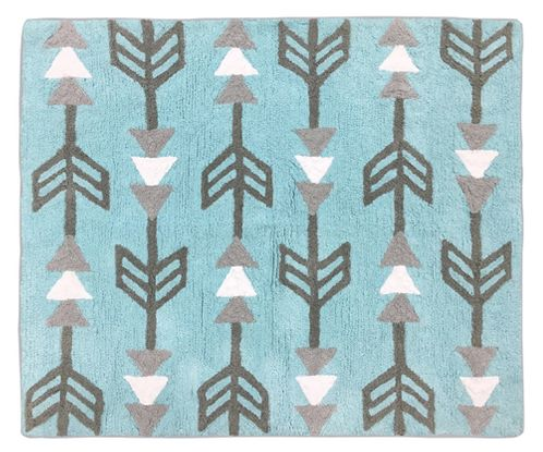 Earth and Sky Accent Floor Rug by Sweet Jojo Designs - Click to enlarge