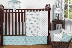 Earth and Sky Baby Bedding - 11pc Crib Set by Sweet Jojo Designs