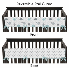 Earth and Sky Baby Crib Long Rail Guard Cover by Sweet Jojo Designs