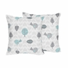 Earth and Sky Decorative Accent Throw Pillows - Set of 2