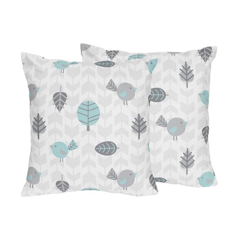 Earth and Sky Decorative Accent Throw Pillows - Set of 2 - Click to enlarge