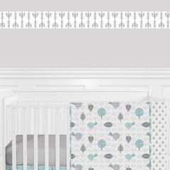 Earth and Sky Kids and Baby Modern Wall Paper Border