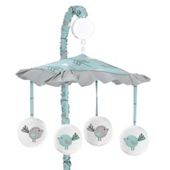 Earth and Sky Musical Baby Crib Mobile by Sweet Jojo Designs