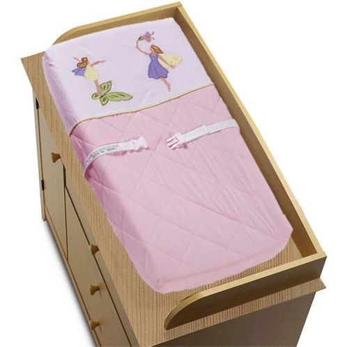 Fairy Tale Fairies Changing Pad Cover - Click to enlarge