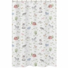 Farm Animals Bathroom Fabric Bath Shower Curtain by Sweet Jojo Designs - Watercolor Farmhouse Horse Cow Sheep Pig