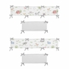 Farm Animals Boy or Girl Baby Nursery Crib Bumper Pad by Sweet Jojo Designs - Watercolor Farmhouse Lattice Horse Cow Sheep Pig