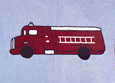 Fire Truck Childrens Bedding