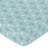 Fitted Crib Sheet for Earth and Sky Baby/Toddler Bedding by Sweet Jojo Designs - Arrows Print