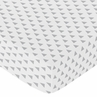 Fitted Crib Sheet for Earth and Sky Baby/Toddler Bedding by Sweet Jojo Designs - Triangle Print