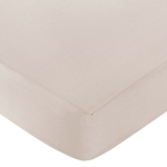 Fitted Crib Sheet for Little Lamb Baby/Toddler Bedding by Sweet Jojo Designs - Taupe