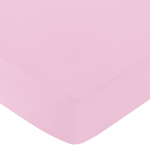 Fitted Crib Sheet for Paris Baby/Toddler Bedding by Sweet Jojo Designs - Light Pink