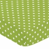 Fitted Crib Sheet for Spirodot Baby/Toddler Bedding by Sweet Jojo Designs - Polka Dot