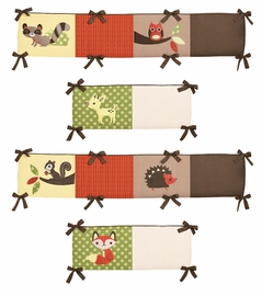 Forest Friends Collection Crib Bumper by Sweet Jojo Designs