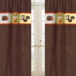 Forest Friends Window Treatment Panels - Set of 2