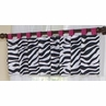 Funky Zebra Window Valance by Sweet Jojo Designs