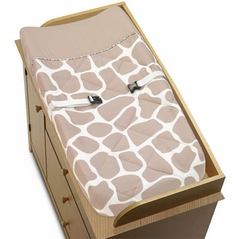 Giraffe Baby Changing Pad Cover by Sweet Jojo Designs