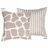 Giraffe Decorative Accent Throw Pillow by Sweet Jojo Designs