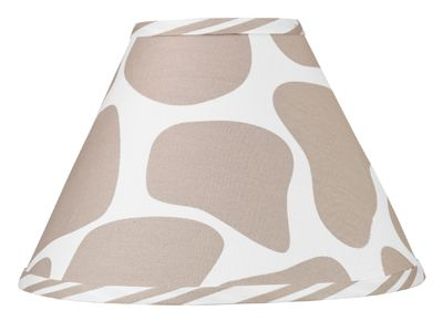 Giraffe Lamp Shade by Sweet Jojo Designs - Click to enlarge