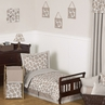 Giraffe Neutral Toddler Bedding - 5 pc Set by Sweet Jojo Designs