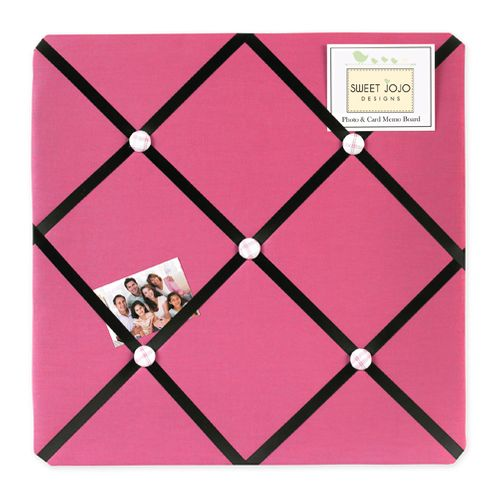 Girls Soccer Fabric Memory/Memo Photo Bulletin Board - Click to enlarge