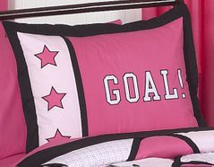 Girls Soccer Pillow Sham