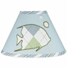Go Fish Ocean Fishing Lamp Shade by Sweet Jojo Designs