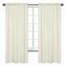 Gold and White Polka Dot Window Treatment Panels for Amelia Collection - Set of 2