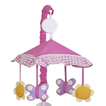Gracie's Garden Musical Crib Mobile