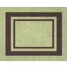 Green and Brown Hotel Accent Floor Rug