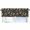 Green Camo Army Camouflage Collection Window Valance by Sweet Jojo Designs