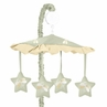 Green Dragonfly Dreams Musical Crib Mobile