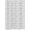Grey and White Bathroom Fabric Bath Shower Curtain for Woodland Arrow Collection by Sweet Jojo Designs