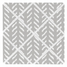 Grey and White Boho Herringbone Arrow Fabric Memory Memo Photo Bulletin Board for Gray Woodland Forest Friends Collection by Sweet Jojo Designs