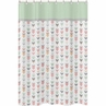 Grey, Coral and Mint Woodland Arrow Kids Bathroom Fabric Bath Shower Curtain by Sweet Jojo Designs