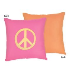Groovy Decorative Accent Throw Pillow by Sweet Jojo Designs