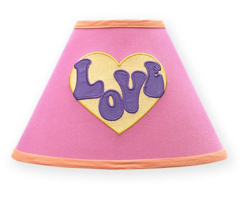 Groovy Lamp Shade by Sweet Jojo Designs - Click to enlarge