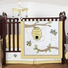 Honey Bee Baby Bedding - 4pc Crib Set by Sweet Jojo Designs